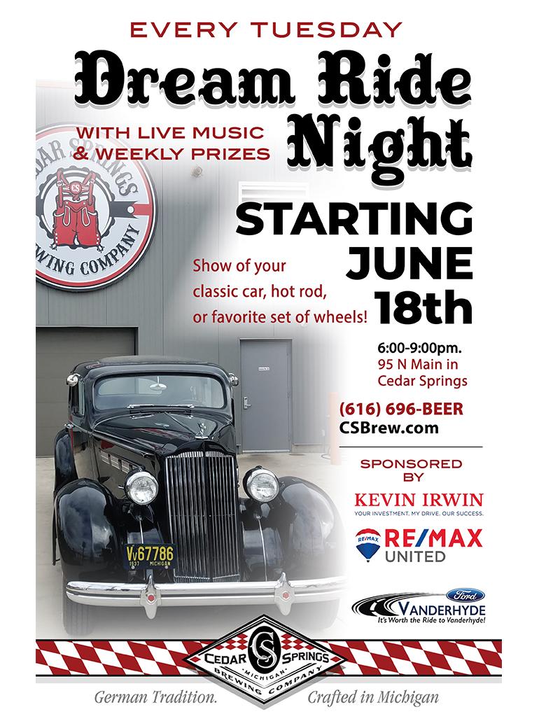 Weekly Events   Cedar Springs Brewing Company